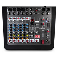 Allen & Heath ZEDI10FX  10 Channel Live Mixer, With 16 Preset Effects