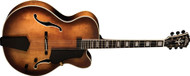 Washburn J600K jazz hollow body electric guitar