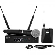 Shure QLXD124/85 Handheld and Lav Combo Wireless System