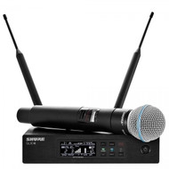 Shure QLXD24/B58 Digital Wireless Handheld Microphone System with BETA58A Cartridge