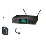 Audio Technica ATW3193BI wireless headset system