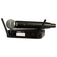 Shure GLXD24/B58 Handheld Wireless System w/Beta58 Mic