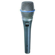 Shure BETA87A Supercardioid Handheld Condenser Microphone