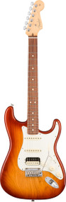 Fender American Professional Stratocaster HSS Shawbucker Electric Guitar Rosewood Fingerboard, Sienna Sunburst Finish