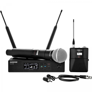 Shure QLXD124/85-G50 Handheld and Lav Combo Wireless System (G Band)