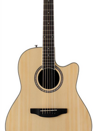 Ovation Applause Celebrity AB24II-4 acoustic electric guitar package