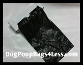 PWB6000R Dog Poop Bags (case of 6000) Thirty rolls,200 Bags per roll, Fits popular dispensers (PWB6000R)