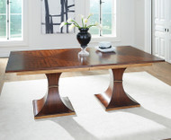 2 Pillar Dining Table