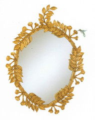 Gold Vine Mirror