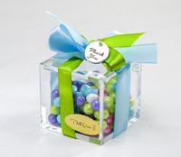 Multi-Color Candy Favor Box