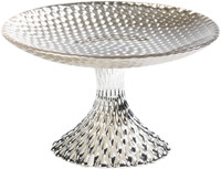 Glass Sfere Small Footed Plate