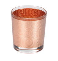 2pcs Copper Glass Set