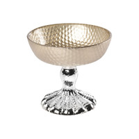 Silver Plated & Glass Chalice