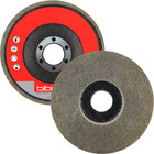 "4-1/2"" x 7/8"" Unitized Fiberglass Backed Disc T27 