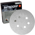"6"" 6 Hole Rhynogrip Hook & Loop Discs (Box of 50) 
