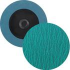 "2"" Quick Change Sanding Disc (Box Qty: 100) | Type R | 60 Grit Zirconia w/ G.A. | LVA RD20ZP-60"