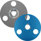 "5"" AVOS BlueFire SpeedLok Resin Fiber Discs (Pkg Qty: 10) | 80 Grit | Norton 66261126560"