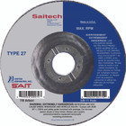 "4.5"" x 1/8"" x 7/8""  T27 Pipeline Wheel | Sait Saitech 22264"