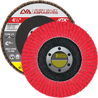"4.5"" x 7/8"" Ceramic High Density Flap Disc Type 27 Flat 