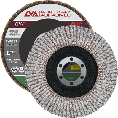 "4.5"" x 7/8"" Flap Disc for Aluminum Type 27 Flat 