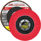 "4.5"" x 7/8"" Ceramic High Density Flap Disc Type 29 Conical 