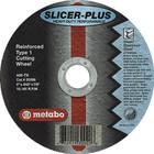 "9"" x 1/16"" x 5/8""-11 A46TZ T27 Cut-Off Wheel | Metabo Slicer Plus 655799000"