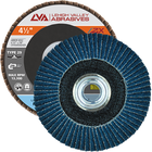 "4.5"" x 5/8""-11 Threaded Zirconia Flap Disc Type 29 Conical 