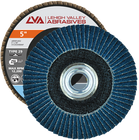 "5"" x 5/8""-11 Threaded Zirconia Flap Disc Type 29 Conical 