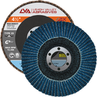 "4.5"" x 7/8"" Zirconia High Density Flap Disc Type 29 Conical 