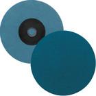 "2"" Quick Change Sanding Disc (Box Qty: 100) | Type S | 36 Grit Zirconia | LVA SD20ZA-36"