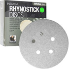 "5"" 5 Hole Rhynostick PSA Discs (Box of 100) | 150 Grit AO Plus | Indasa 51-150"