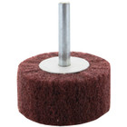 3 x 1 x 1/4 In. Shank Non-Woven Flap Wheel | Very Fine Grade | Wendt 120403