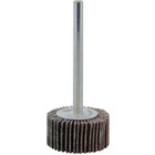 1 3/16 x 1/8 x 1/8 In. Shank Mini Flap Wheel | 180 Grit A/O | Wendt 112269