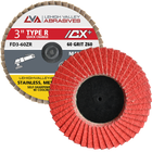 "3""  Quick Change Flap Discs 