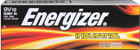 Industrial Alkaline 9V Battery EN22 - 72 pack | Energizer EN22