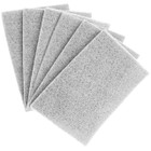 "6"" x 9"" Hand Pad Non-Woven Light Duty Non-Abrasive Cleaning (White) 