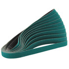 "1/2"" x 18"" Zirconia Dynafile Belt (Pkg Qty: 10) | 36 Grit ZP | Dynabrade 79015"