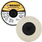 "2"" Quick Change Felt Polishing Mini Flap Disc 