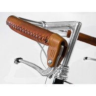 Velo Orange Elkhide Sew-On Leather City Bar Covers