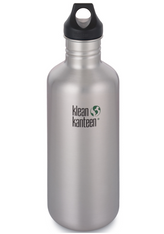 Klean Kanteen Classic 1182ML W/Loop cap - Brushed stainless