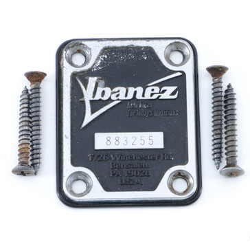 Ibanez Raised Letter Neck Plate OS-7649
