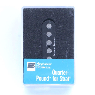 Seymour Duncan SSL-4 Quarter Pound Single Coil Strat Guitar Pickup Black