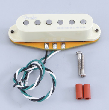 Open Box Fender Gen 4 Noiseless Stratocaster Neck Pickup Vintage White