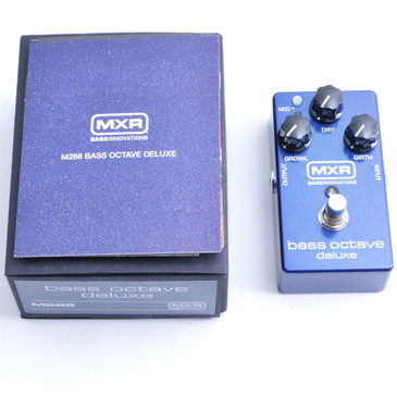 NEW MXR M288 Bass Octave Deluxe Bass Guitar Effects Pedal