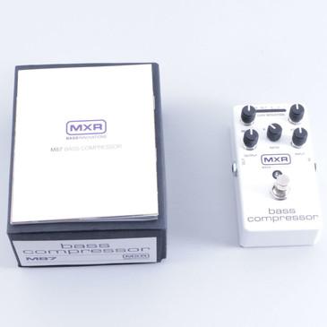 NEW!! MXR Bass Compressor Bass Effects Pedal M87