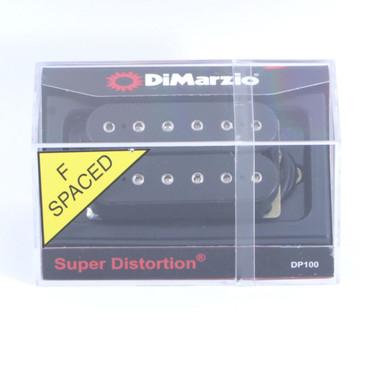 Dimarzio DP100 Super Distortion F-Spaced Humbucker Guitar Pickup Black