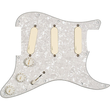 EMG DG20 David Gilmour Prewired Loaded Pickguard EMG-SA Ivory