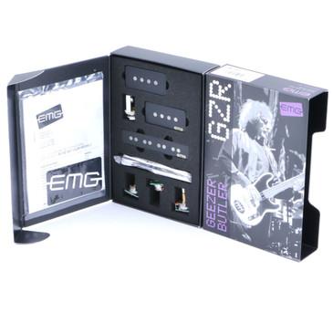 EMG-GZR-PJHZ Geezer Butler PJ-Bass Passive Pickup Set Black