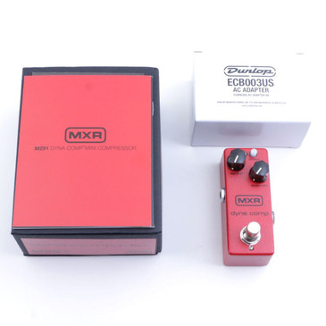 NEW MXR M291 Dyna Comp Mini Compressor Guitar Effects Pedal