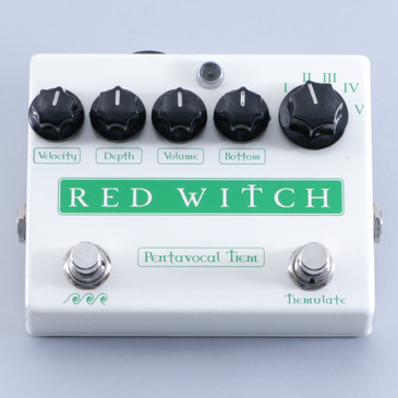 Red Witch Pentavocal Trem Tremolo Guitar Effects Pedal P-04051